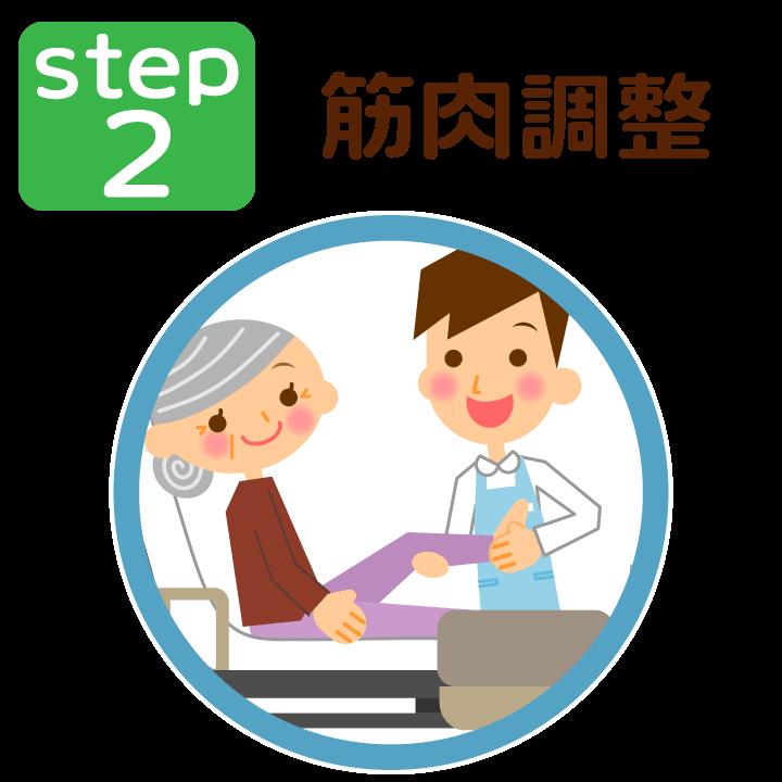 ステップ2:筋肉調整